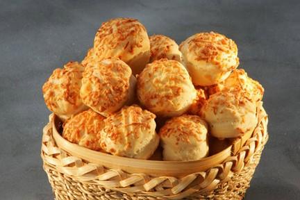 Tejfölös-sajtos apró pogácsa