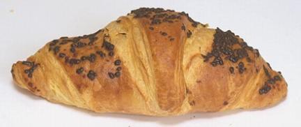 Csokoládés-mogyorós croissant