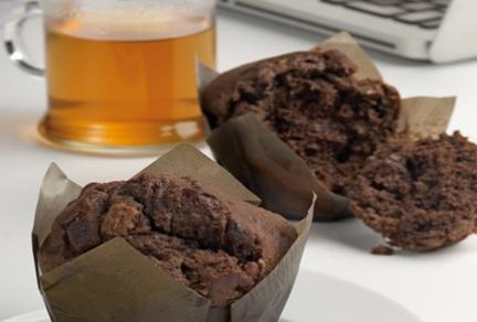 Dupla csokis muffin